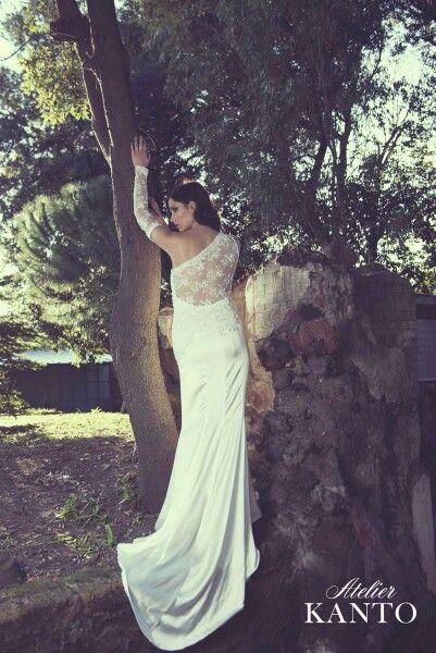 Atelier kanto è alta sartoria Italiana per una sposa unica nel suo #Stile!