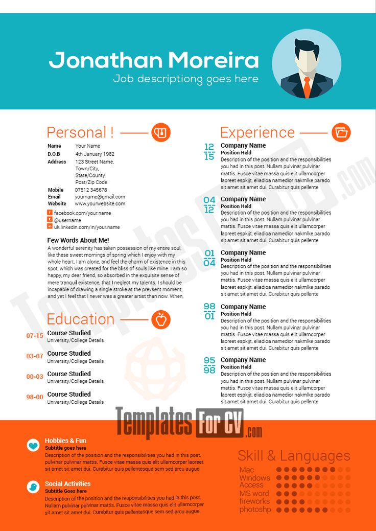 39 best Resume CV Apps images on Pinterest Curriculum, Resume - show me a resume