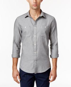 Tommy Hilfiger Men's Marsh Herringbone Shirt  -