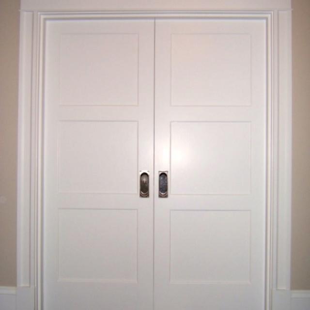 Double Pocket Doors.... | Decor ideas | Pinterest