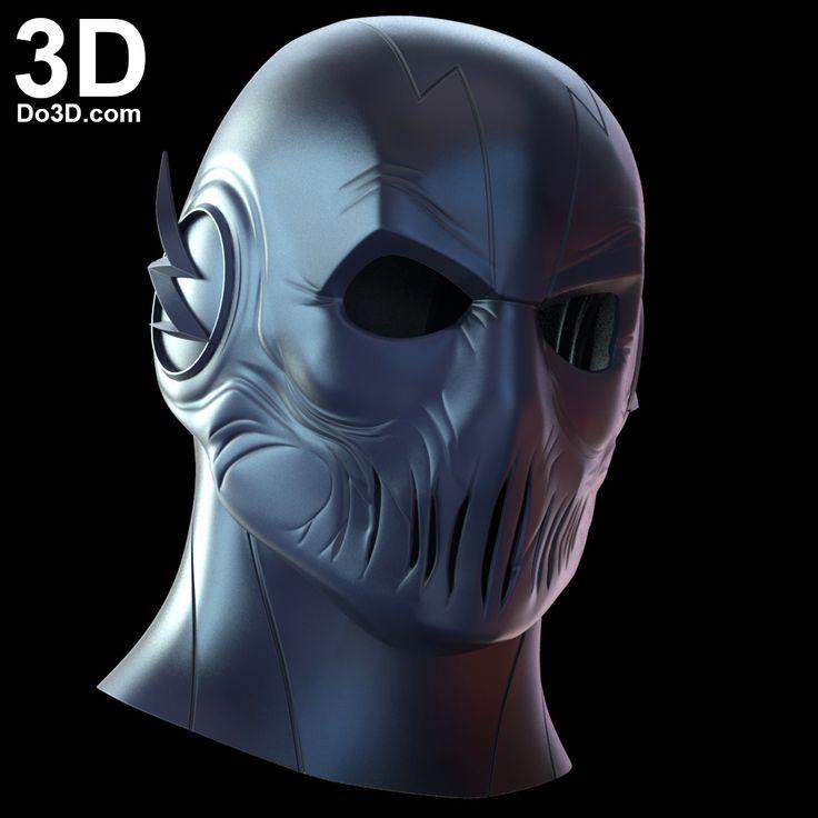 3D Printable Model: Zoom Mask from The Flash | File Formats: STL OBJ – Do3D.com