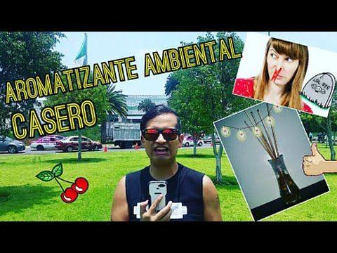 Aromatizante Ambiental - Eliminador de olores casero - YouTube
