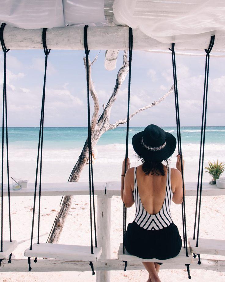 Beach Bar im Coco Tulum