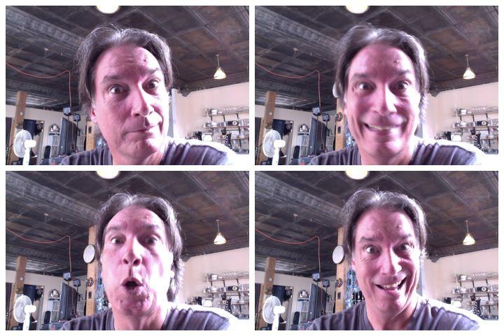 webcam expressions
