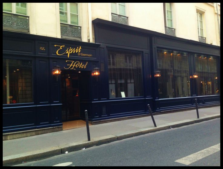Postcard From: Hotel Esprit St. Germain, Paris