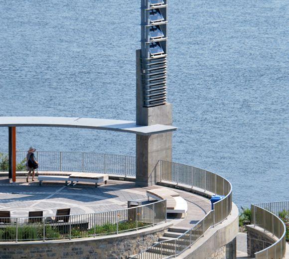 LEMAYMICHAUD | Design | Architecture | Park | landscape | Montreal | Waterfront | Concrete | Bench