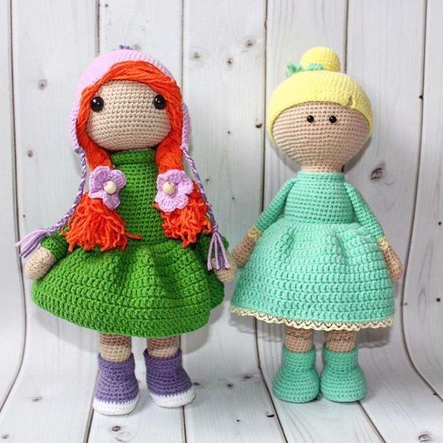 Девчули-красотули! 💜💜💜 Ниточки - полухлопок,  Наполнитель -гипоаллергенный Рыжеволосая девчонка по мк М. Устюшкиной,  мятно-лимонная собственного сочинения 🌸🌸🌸 💜💜💜 #crochet #handmadetoy #toy #cute #вязаниеназаказ #кукларучнойработы #детскиеигрушки #интерьернаякукла #вязаниедетям  #вяжутнетолькобабушки #вяжуипродаю  #knitting #knittersoftheworld#amigurumi #амигуруми -  #knitting_inspiration  #игрушкиручнойработы #тюмень #сынок #доченька #дети #инстадети#подарок…