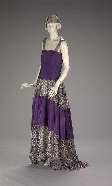 Dress  Jeanne Lanvin, 1922  The Indianapolis Museum of Art