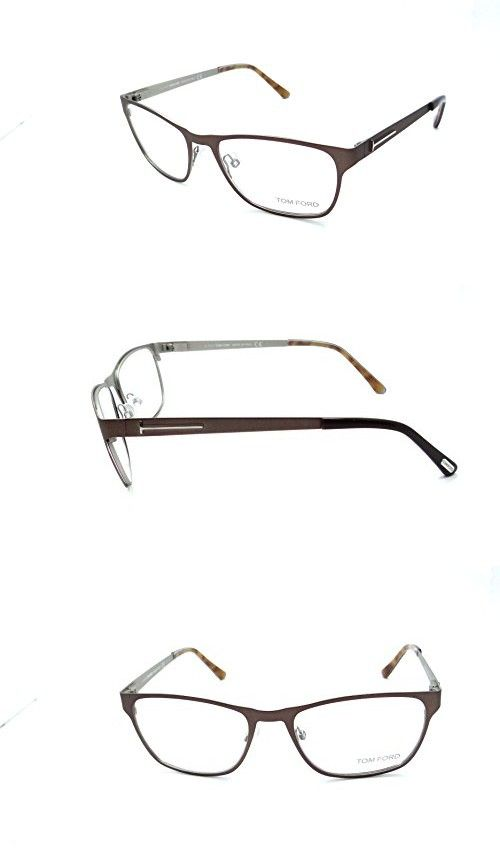 13bd53651c Tom Ford Rx Eyeglasses Frames TF 5242 050 53x17 Bronze Made in Italy ...