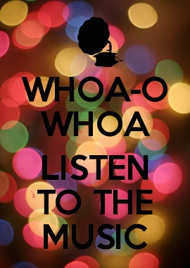 WHOA-O WHOA  LISTEN TO THE MUSIC - Doobie Brothers