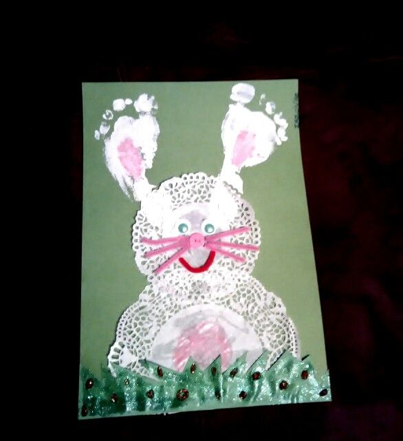 Easter bunny -feet ears