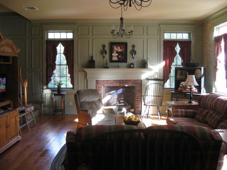 100 best primitive living rooms images on pinterest for Primitive living room ideas