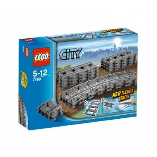 Lego 7499 Flexibele en Rechte rails