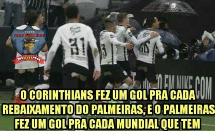 O Corinthians venceu o Palmeiras no Allianz Parque por 2 a 0.  Jadson e Guilherme Arana marcaram para o Timão