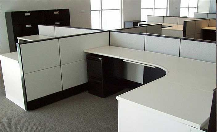 millers 39 early segmented office cubicle system hermanmillerethospace