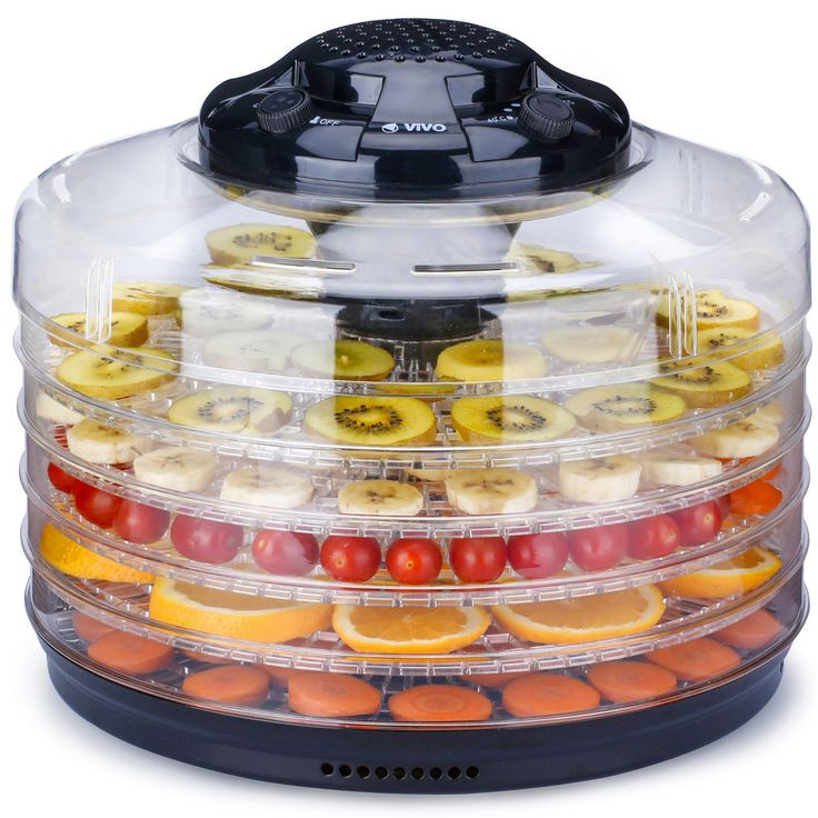 Professional 5 Tray Food Dehydrator Fruit Dryer Machine Thermostatic Control New #Vivo