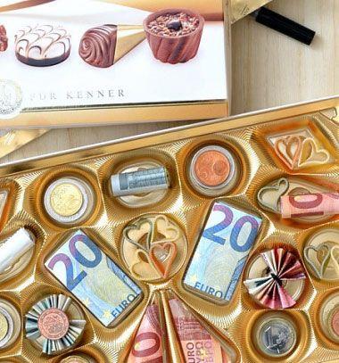 DIY Money bonbon (box of money) - creative way to gift money // Pénz praliné - pénz ajándékozás kreatívan bonbonos dobozban // Mindy - craft tutorial collection // #crafts #DIY #craftTutorial #tutorial