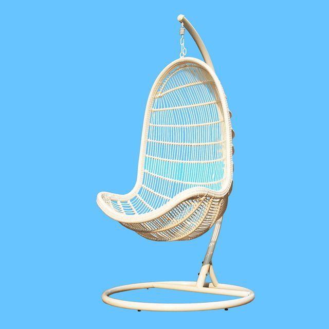 Крытый и открытый балкон патио стулья висит колыбель качалка из ротанга взрослых корзина