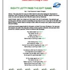 FREE Santa Claus is Coming to Town Pass the Christmas Gift Game. A Christmas game that's fun and teaches the concept of left and right. Just print ...