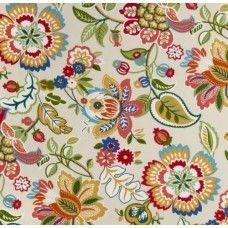 Telfair Floral in Garden Indoor Outdoor Fabrics