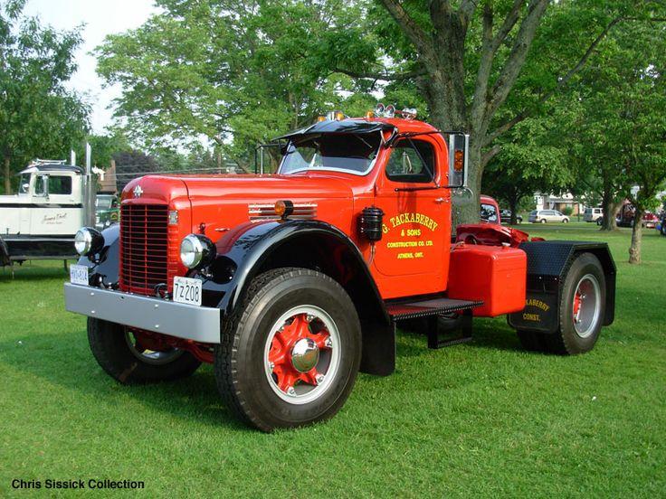 Antique International Harvester Semi Tractor : International kb series pinterest