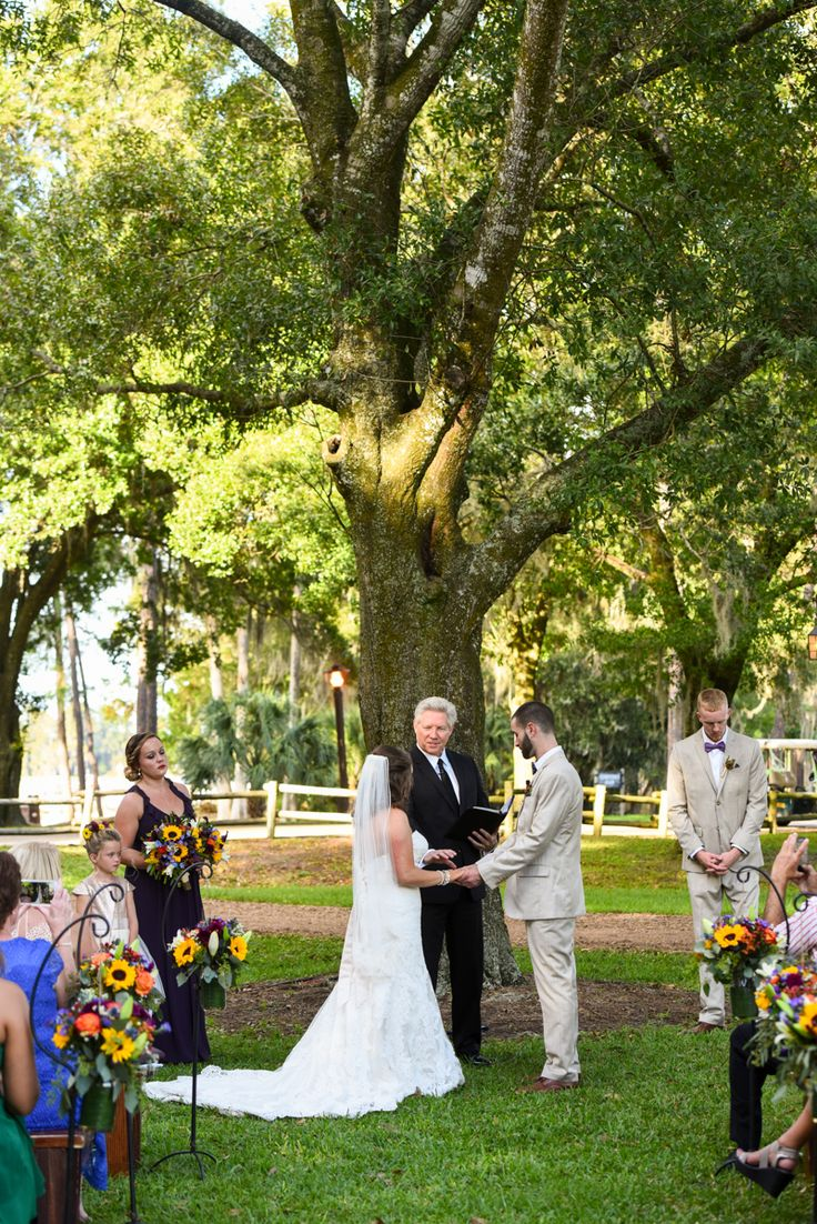 Weddings at disney parks and resorts - Outdoor Ceremony At Disney S Fort Wilderness Resort