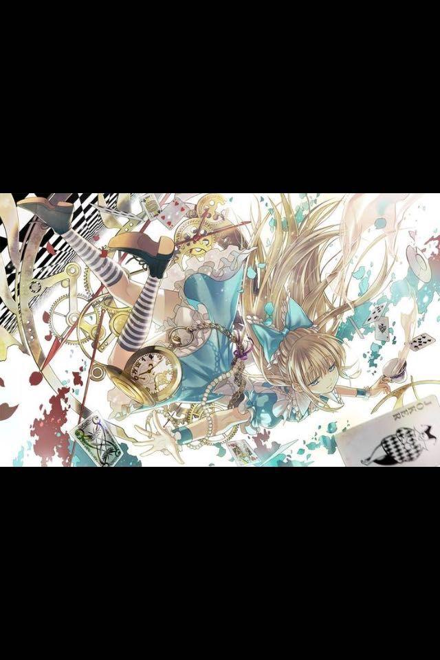 Çizgi Filmler Anime Olursa - Alice In Wonderland - Wattpad