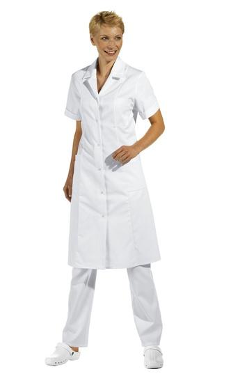 Dames doktersjas, ook goed als jurk