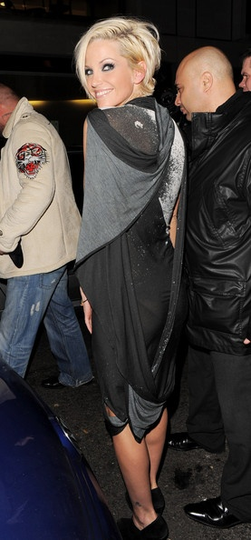 """Sarah Harding Photo - Sarah Harding Leaves the """"A Sparkling Night With Nick"""" Event"""