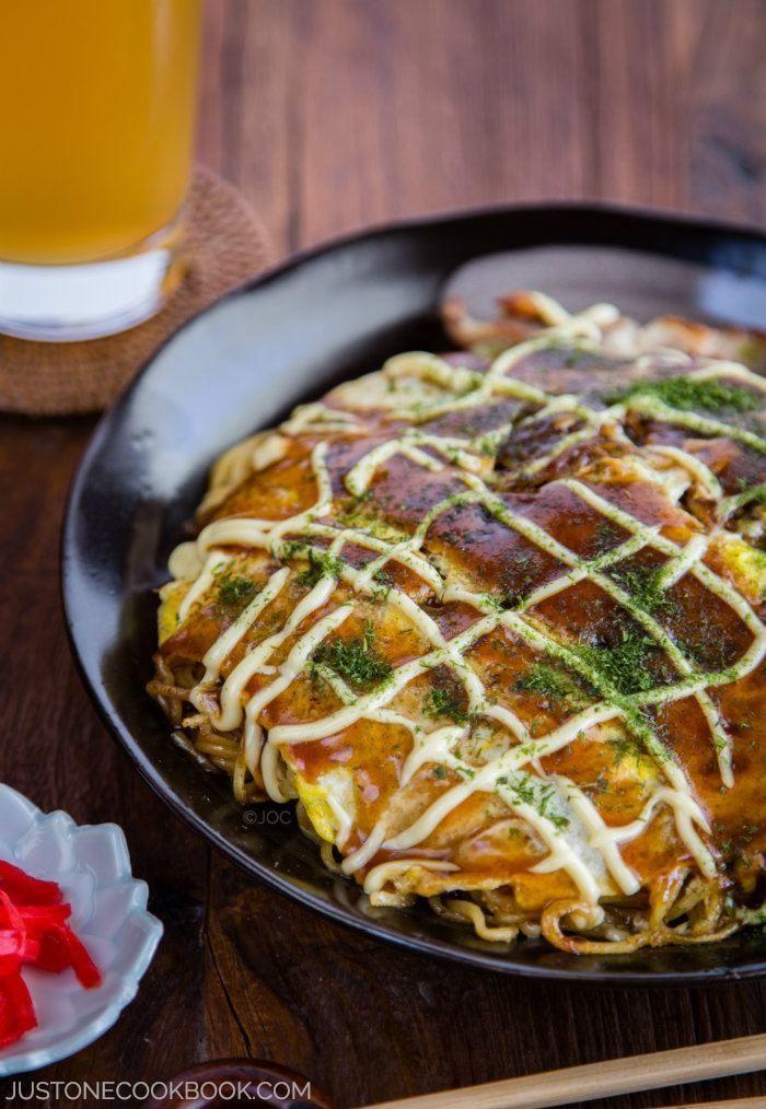 Hiroshimayaki (Hiroshima Style Okonomiyaki) | Easy Japanese Recipes at JustOneCookbook.com