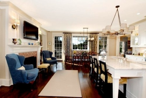 best 25 fireplace in kitchen ideas on pinterest kitchen fireplaces fireplace in dining room. Black Bedroom Furniture Sets. Home Design Ideas
