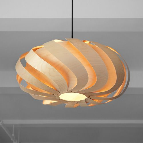 www.peridotplace.com Beautiful light handmade from FSC Birch by MacMaster #lighting #natural #sustainable
