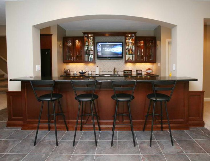 Wetbar Design | Wet Bar Designs For Small Space: Wet Bar Designs With Floor  Tiles
