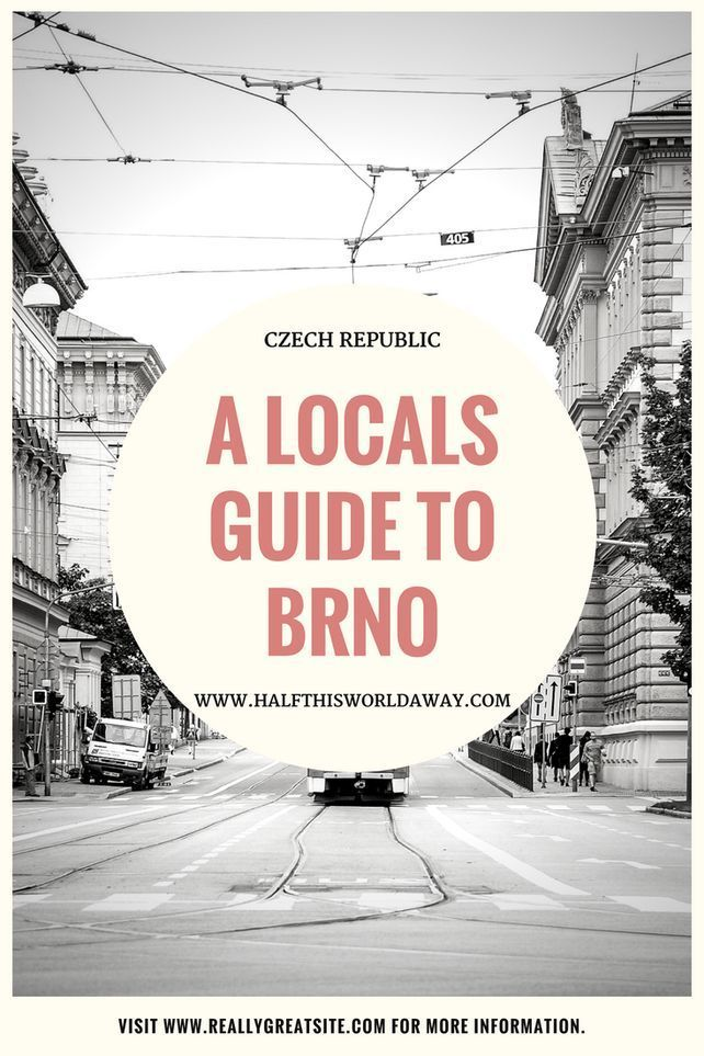 A Local's Guide to Brno | Europe | Travel | Travel, Europe travel