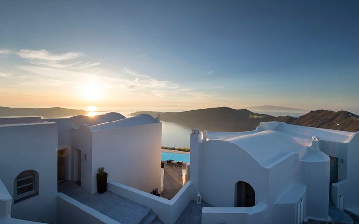 An insider's guide to the best boutique hotels in Santorini, including the top places to stay for caldera views, infinity pools, spas, great food and a romantic vibe