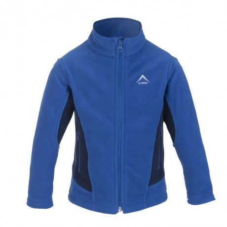 Protect the younger members of your family with K-Way's range of technical clothing for children. The Ike is a medium weight, full zip fleece. It is equally at home indoors and out, although it is primarily designed as a mid-layer garment for more strenuous pursuits. Fleece is a potent insulator, and provides excellent, lightweight warmth. It also wicks moisture away from your child's skin, keeping him/her comfortable.