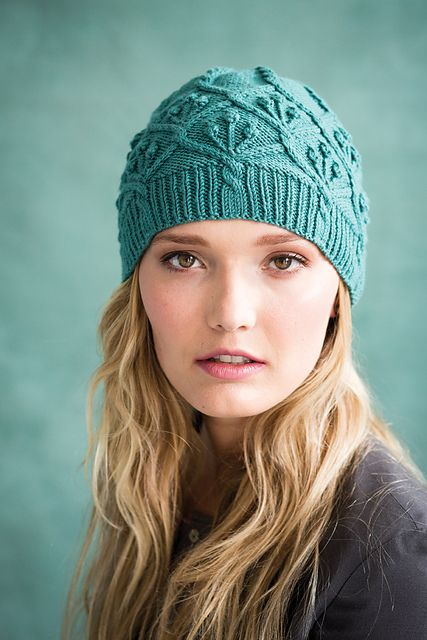 Vogue Knitting, Fall 2015 Ravelry: #05 Seamless Cap pattern by Audrey Knight