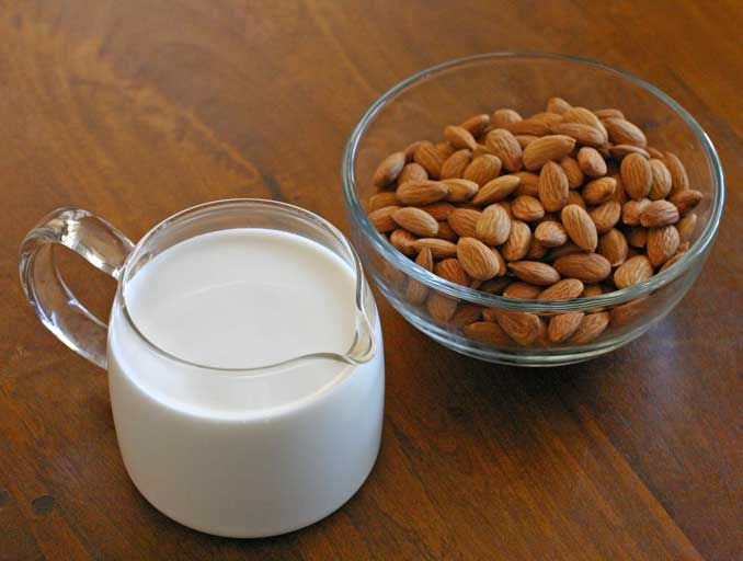 DIY almond milk