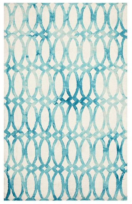 Watercolor Trellis Rug