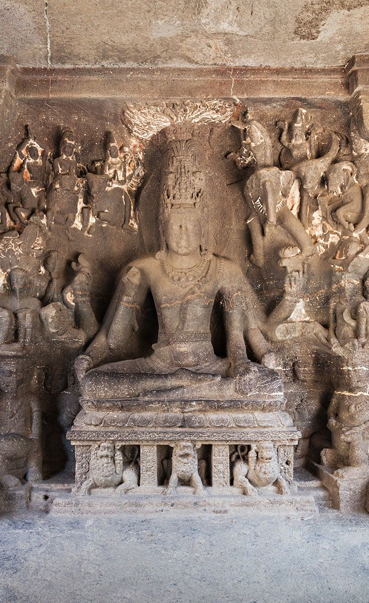The Jain Caves: The Jain caves reveal specific dimensions of Jain philosophy & tradition. They reflect a strict sense of simplicity – they are not relatively large as compared to others, but they present exceptionally detailed art works.