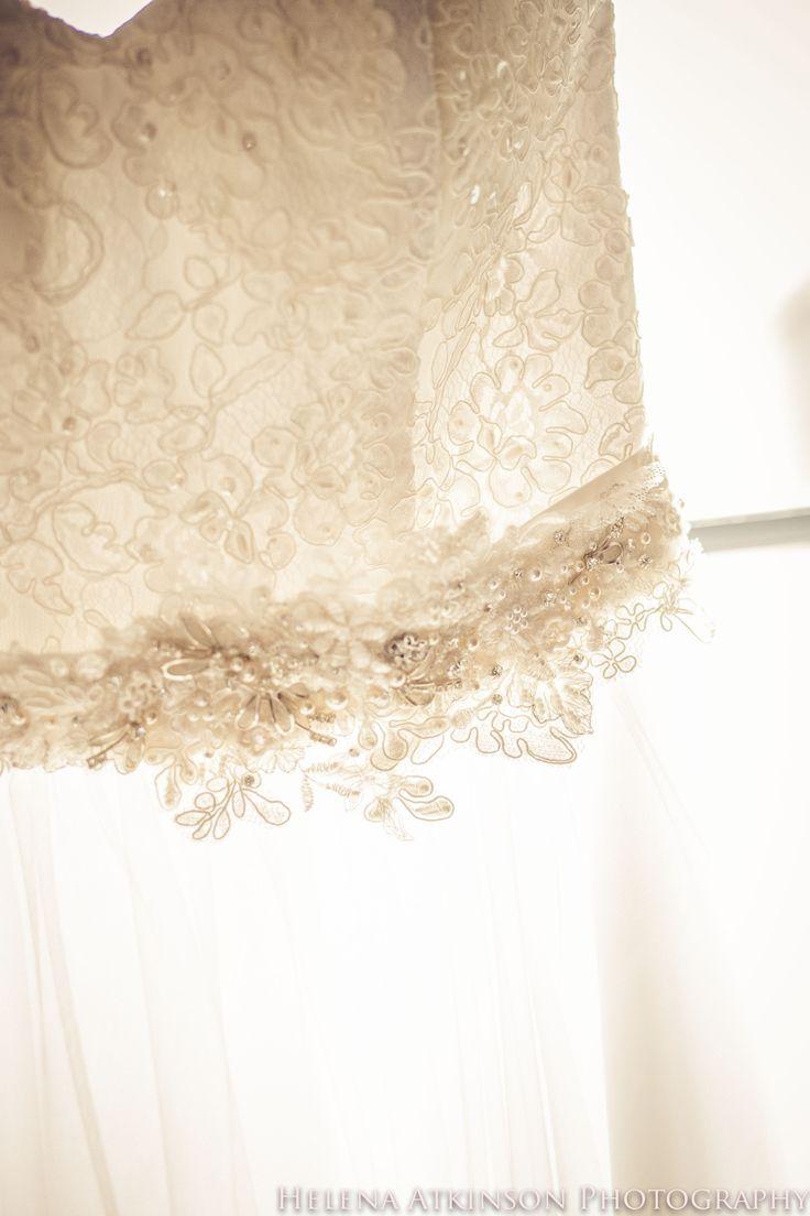 Beautiful dress by Lisa and belt by Ansia Jonck.