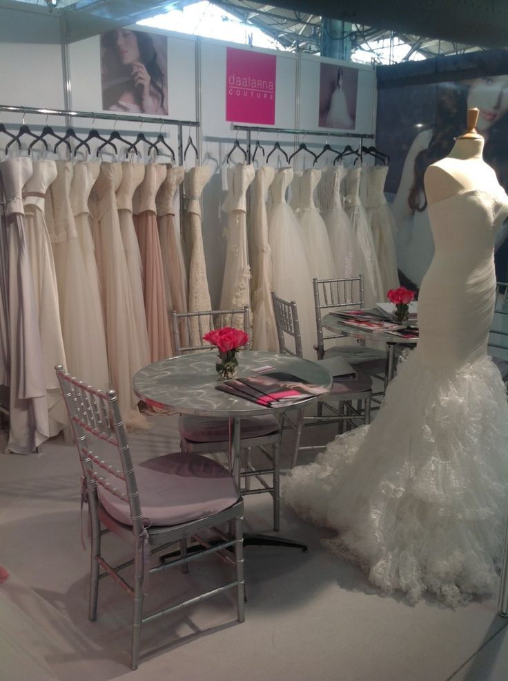 Our booth in NY International Bridal Week