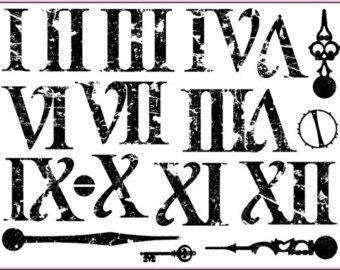 roman numeral font - Google Search