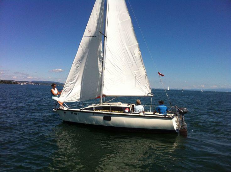 Ausbildung zum Binnenschein Segeln und Motorboot am Bodensee