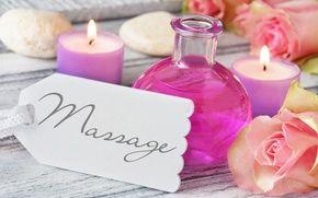 Обои flowers, свечи, candles, розы, wellness, roses, relax, spa, oil, still life, спа