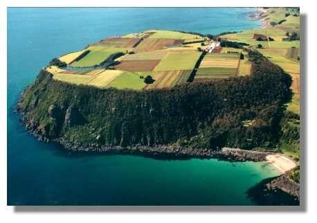 Nice location for a farm? Table Cape Farm Wynard, Tasmania
