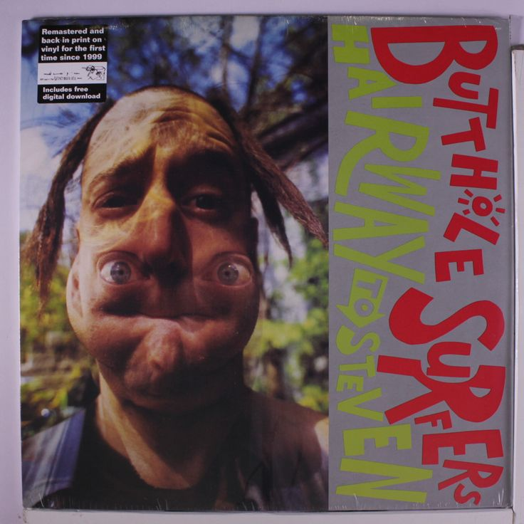 Butthole Surfers Hairway To Steven Records, LPs, Vinyl and CDs ...