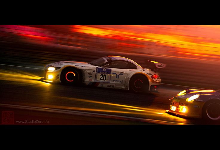 Schubert BMW Z4 GT3 @ Nürburgring 24h race 2012 by Hide Ishiura StudioZero.de, via 500px