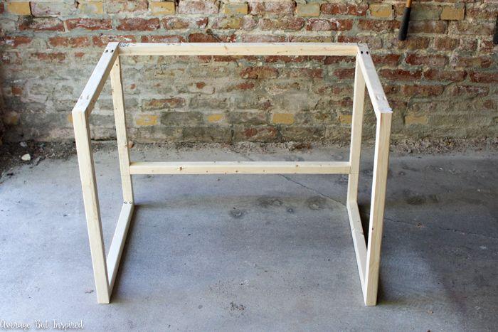 Diy Modern Desk A Beginner Woodworking Project Furniture