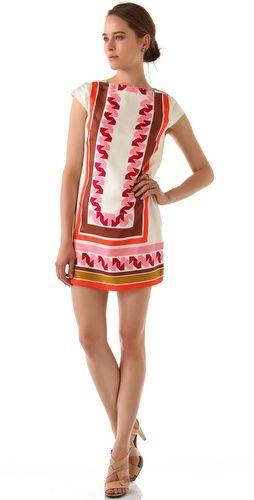 Milly: Vivienne Dress, Dress Milly, Style, Cute Dresses, Milly Tile, Milly Dress, Dresses Rompers, Print Vivienne